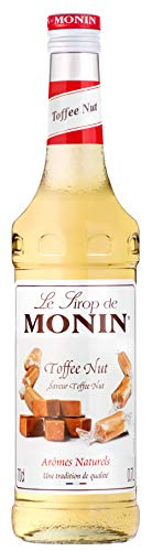 Monin Premium Toffee Nut Syrup 700 ml [Grocery]