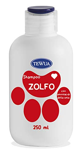 tewua shampoo zwavel X seboree 250 ml