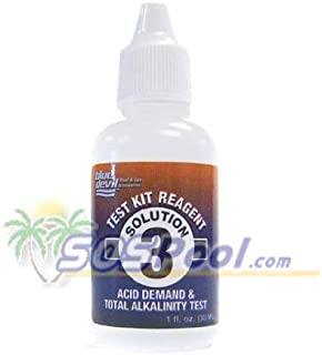 Blue Devil 1 oz. Test Kit Reagent Solution 3 Acid Demand B7043