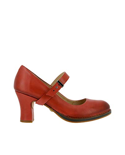 Neosens S279 Restored Skin Geranium/BALADI Rot Damen 39 Schuhe Mit Hoher Absatz Schnalle