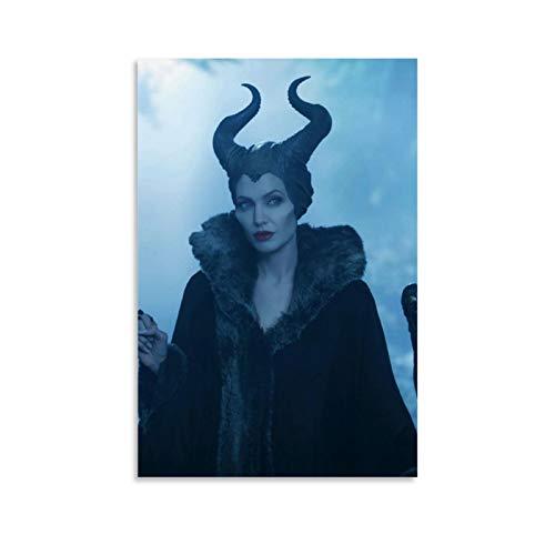 DRAGON VINES Maleficent American Movie Poster und Drucke, College Student Schlafsaal, 50 x 75 cm