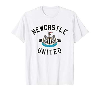 Mens Newcastle United Crest T-shirt White Premier League