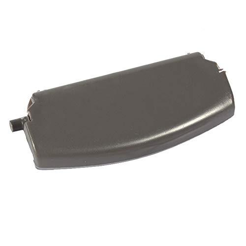 Fydun Reposabrazos Cubierta Clip de Pestillo Apoyabrazos Tapa Consola Tapa Centrar Clip de Pestillo para A4 B6 2000-2005(Negro)