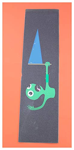 YWF Monopatín Cinta de Agarre de patineta, Papel de Lija de monopatín 23x84cm, Anti-Slid Graphic Deck Protector, Scooter Skateboard Deck Griptape para niños, Adultos. (Color : M)