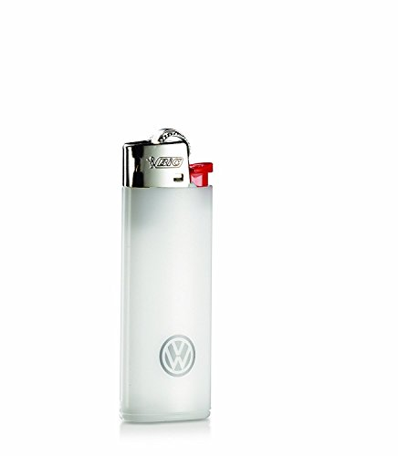 Original VW Feuerzeug Mini Bic, Weiß