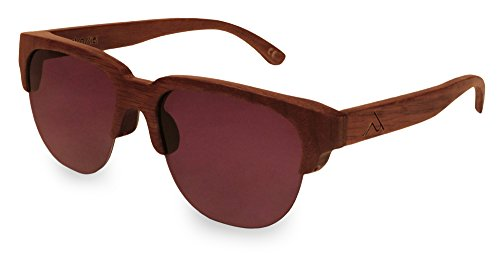 retrostiel Sonnenbrille Holz Joker Nut