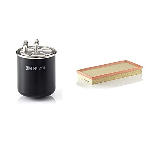 Original MANN-FILTER Kraftstofffilter WK 820/1 – Für LKW & Luftfilter C 40 163 – Für PKW