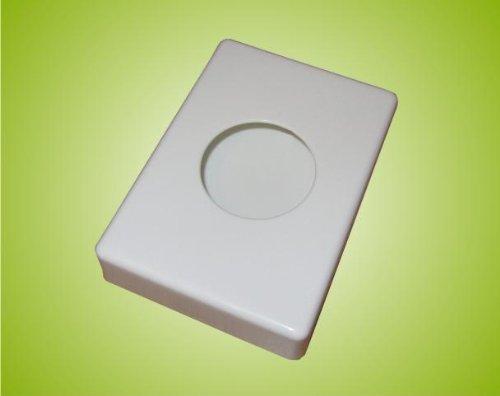 Hygienebeutelspender Halterung für Hygienebeutel Hygiene Box weiss 140x100x27 mm