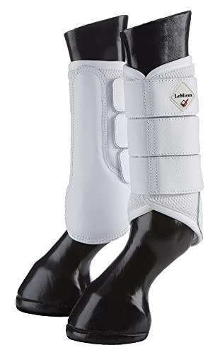 LeMieux Mesh Brushing Boot Medium White