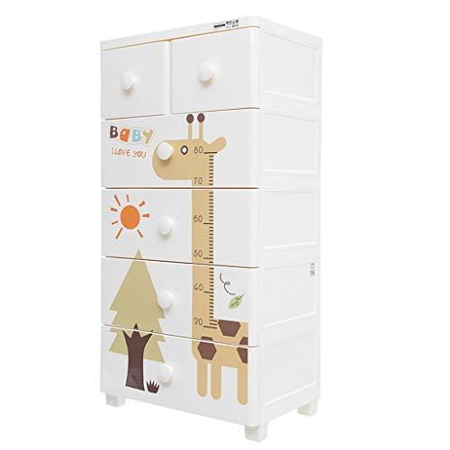 FTL&HONG Lagerschrank 60 * 40 * 117,5 cm Schlafzimmer Wohnzimmer Finishing Cabinet Schublade Lagerschrank
