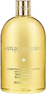 Baylis & Harding Sweet Mandarin & Grapefruit Luxury Bubble Bath Bubbles 16.9 Oz