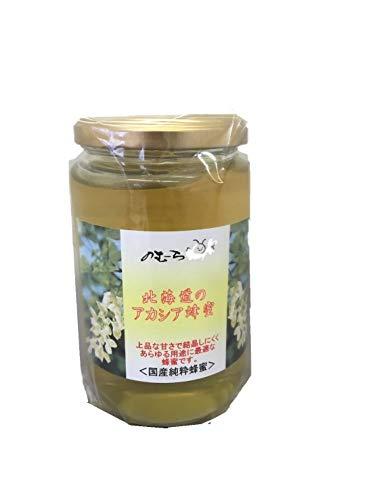 国産純粋 非加熱蜂蜜 北海道の アカシアはちみつ