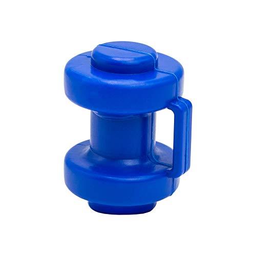 awm® Trampolin Endkappen Set *BLAU 6 Stück Schutzkappen 25 mm - Innenliegend - Sicherheitsnetz Kappen Abschlusskappen *INNEN