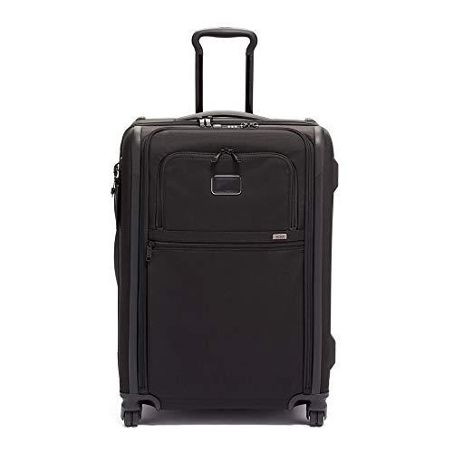 [トゥミ] スーツケース ソフト 公式 正規品 TUMI Alpha 3 ショート・トリップ・エクスパンダブル・4ウィール・パッキングケース 保証付 105L 66 cm 15.4kg Black