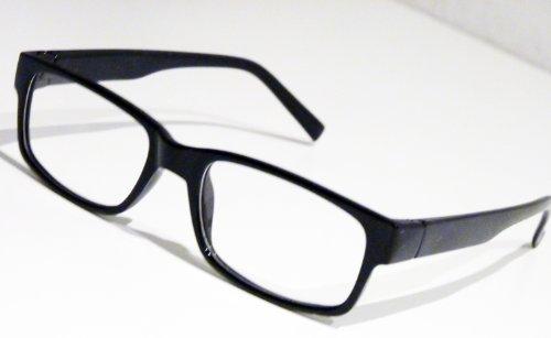 Slim Nerd Clear bril nerdbril Geek Wayfarer leesbril zonder sterkte pantobril