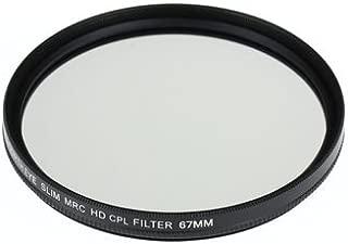 Panasonic LUMIX DMC-FZH1用 互換MRC-CPLレンズフィルター 67mm
