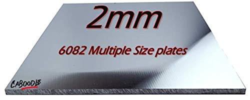 Hojas y placas de aluminio 6082 cuadrados y...