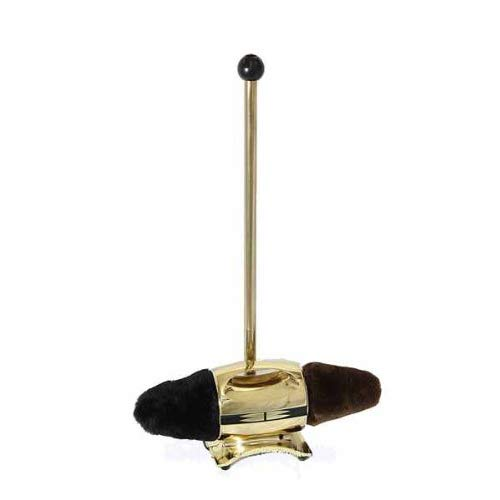 Beck Shoe Polisher Diplomat, Brass, 17 in x 6 in x 30...