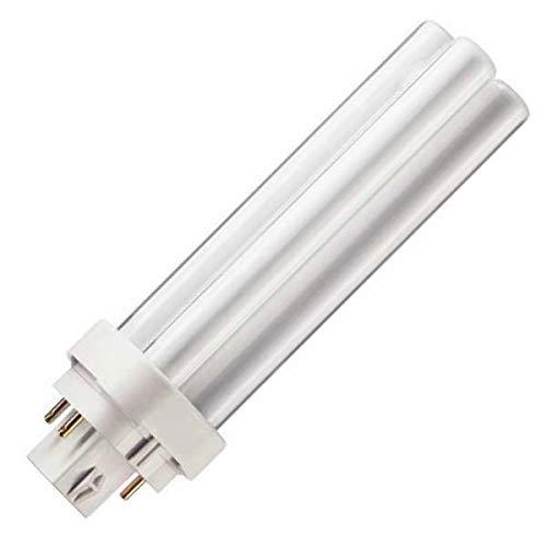 Philips Master PL-C 13W 840 4P - Bombilla fluorescente compacta (G24q-1, 10 unidades, luz blanca neutra)