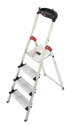 Hailo 8040-401 Escalera de tijera alumin...