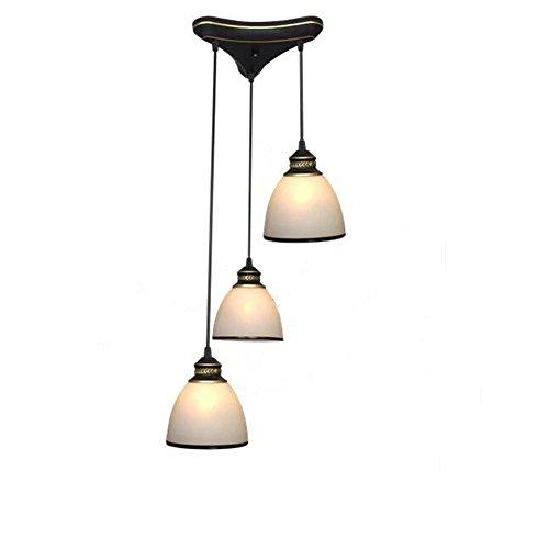 Moderne Conception Lampes suspendues Hauteur r/églable Cr/éatif Minimaliste Table /à manger Pendante Lampe M/étal Verre Abat jour Salon Salle /à manger Bar Caf/é /À lint/érieur /Éclairage E27 /Ø2