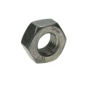 BSW Full Nuts Mild Steel