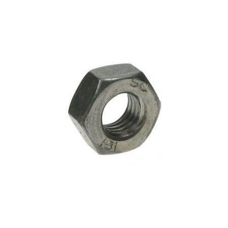 Pack of 25 nuts Hex Full Nuts Grade A Mild Steel Self Colour 5//16 BSW Whitworth Hexagonal