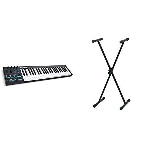 Alesis V49Teclado controlador USB-MIDI de 49 teclas con 8 pads...