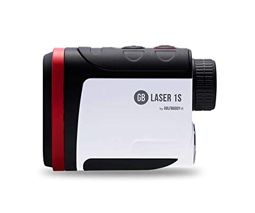 Golfbuddy Laser1s with Slope Rangefinder White/Black