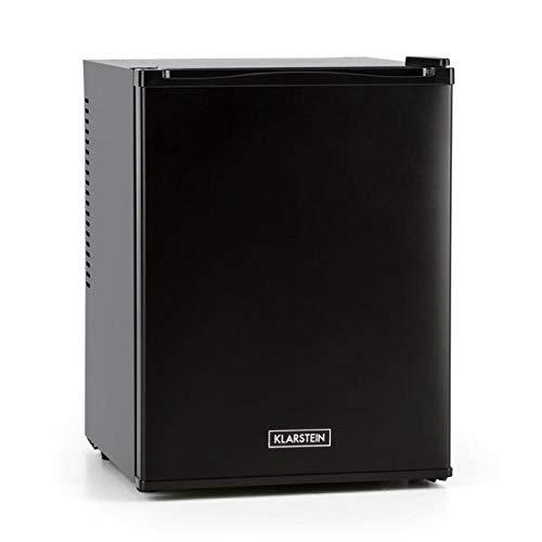 KLARSTEIN Happy Hour - minibar, mini-réfrigérateur à boissons, compression, températures : 5-15 ° C, classe d'efficacité énergétique A, silencieux: 0 dB, éclairage LED, 32 l - noir