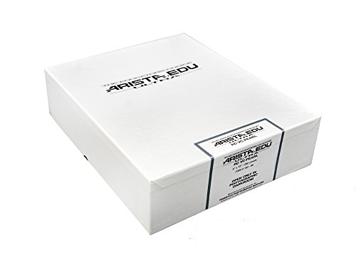 Arista EDU Ultra VC RC Black & White Photographic Paper, Pearl, 8x10, 250 Sheets