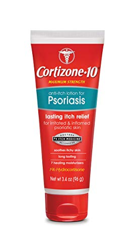 Cortizone10 Anti Itch Lotion for Psoriasis 34 Ounce
