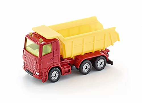 siku 1075, Camión con caja basculante, Metal/Plástico, Rojo/Amarillo, Caja basculante