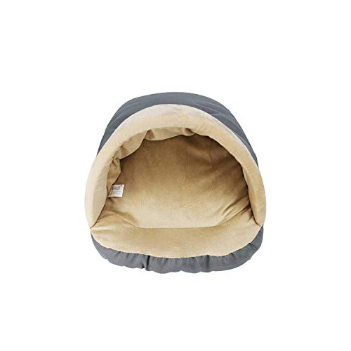 Dresses Dog Mats For Sleeping | Winter Warm Pets Mat Soft Fleece Thicken Nest Pet Cat Small Dogs Puppy Kennel Bed Kitten Cave Sleeping Bag Puppy HouseW-Gray- HLSJ ( Color : Gray , Size : One Size )