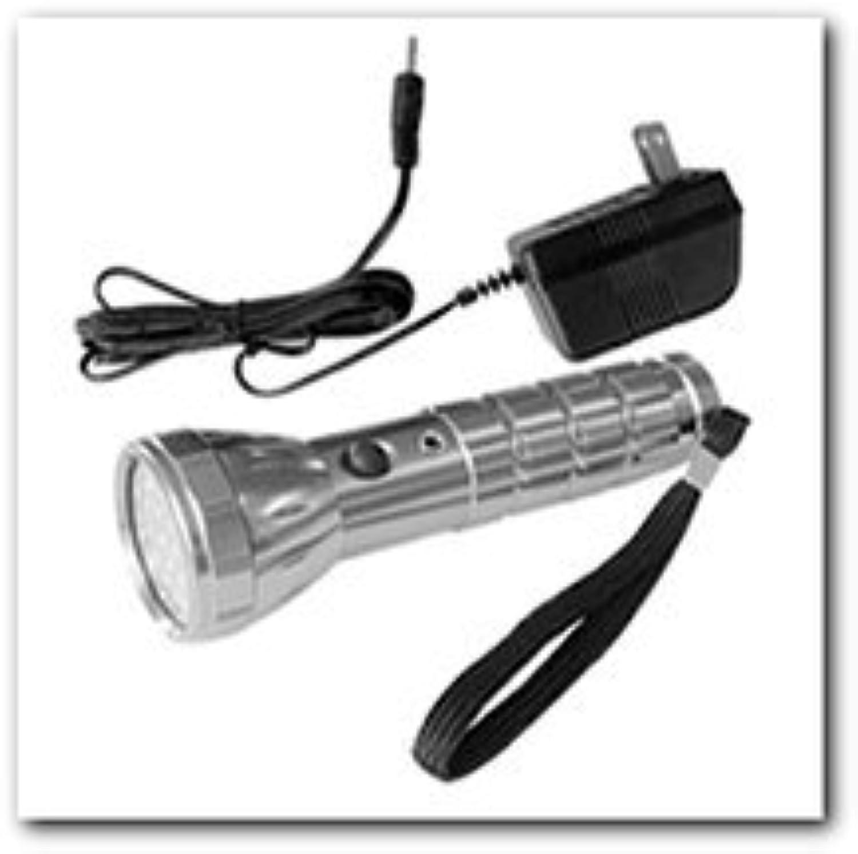 28 led rechargeable aluminum flashlight