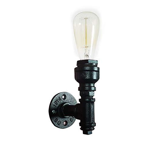 Industrielle Vintage Metall Rohr Lampe Wandleuchten - YIKEGE Retro Stil 5,91