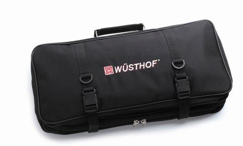 Wusthof Cooking School Bag Knife Storage, One Size, Black