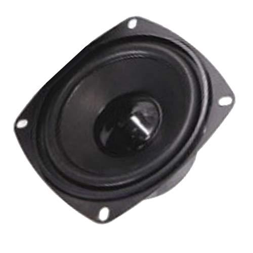 Baoblaze Altavoz de Audio Frecuencia Completa Reemplazos de Altavoz Redonda, 20W 4ohm 4 Pulgadas