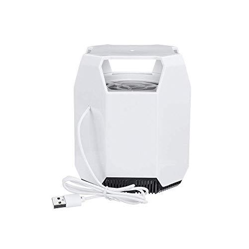 DX Mosquitera silenciosa USB para el hogar, repelente de mosquitos electrónico, antiinsectos, trampa de luz UV, lámpara de noche
