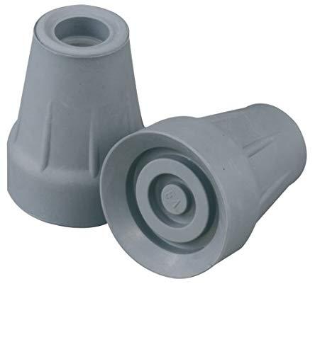 Hohe Qualität Gummihülsen (2 stück) - Wählen Sie Größe/Farbe! (18mm, grau)