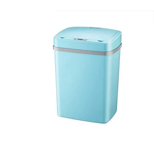 Yuanyuanliu Sensor inteligente inteligente bote de basura hogar sala de estar dormitorio...