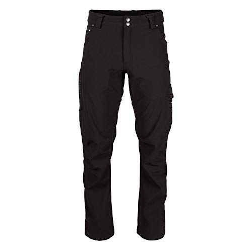 TRUEWERK Men's Winter Work Pants - T3 WerkPants Insulated Workwear, 36x32, Black