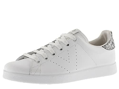 Zapatillas Deportivas Mujer Blancas Piel Marca victoria