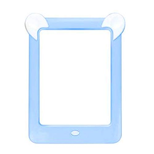 Nrpfell Tableta de Escritura LCD, Tablero de Dibujo MáGico Luminoso LED 3D para Ni?Os, Tablero de Dibujo de Escritura una Mano LCD Azul
