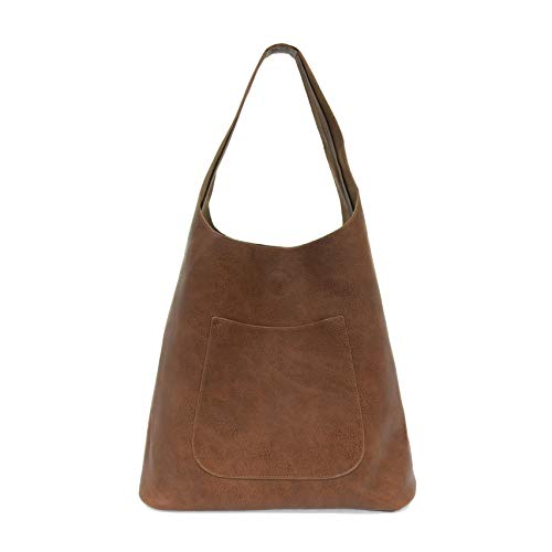 Joy Susan Molly Slouchy Hobo Handbag (Hickory)