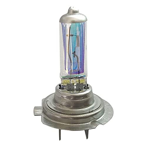 2 piezas de bombilla de xenón para faros delanteros H7 55W / 100W 12V bombilla halógena de xenón luz exterior del coche lámpara halógena súper blanca