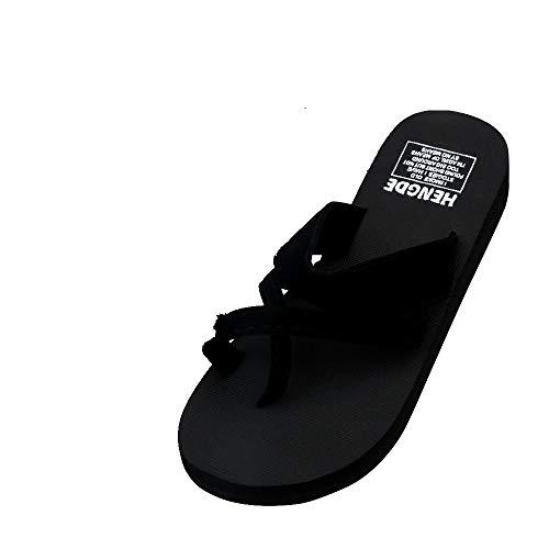 STRIR Chanclas de Mujeres, Mujeres de Moda de Verano Chanclas Playa Zapatilla de Cuña Zapatos de tacón Suela Gruesa Flips-flopes Sandalias de Planas