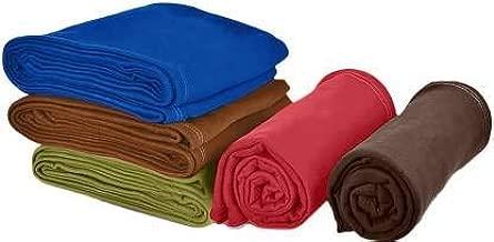 HOMECRUST Fleece Polar s/b Blankets Single Bed Multicolor Blanket - (5 Piece)