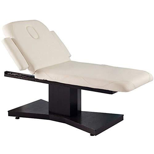 Activeshop Kosmetikliege Massageliege Massagetisch Massagestuhl Cosmetic Chair Elektrish 805 mit 1 Motor Venge/Latte bis 200 kg belastbar Premium-PU-Leder mit Heizung