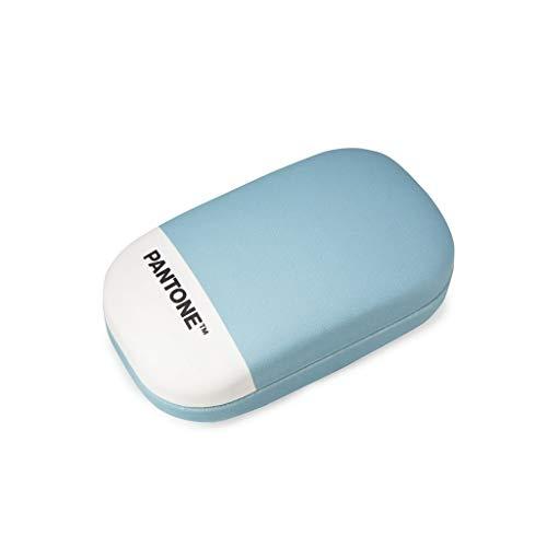 Balvi Étui Multi-usages Pantone Couleur Bleu Étui de Rangement Idéal pour lentilles de Contact, comme Petite boîte à Bijoux, et pour emporter ou Ranger de Petits Objets Simili-Cuir